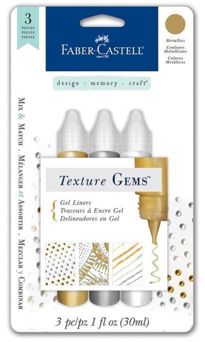 Faber-Castell METALLICS TEXTURE GEMS Gel Liners 770700 zoom image