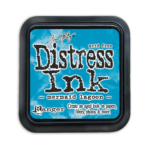 Tim Holtz Distress Ink Pad MERMAID LAGOON Ranger TIM43256 Preview Image