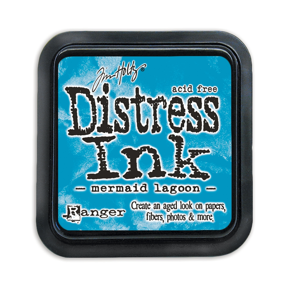 Tim Holtz Distress Ink Pad MERMAID LAGOON Ranger TIM43256 zoom image