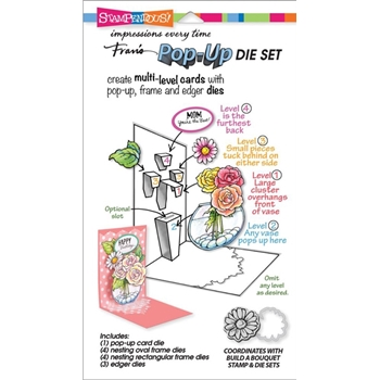 Stampendous BUILD A POP UP DIE SET DCP1001