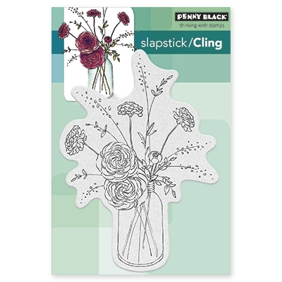 Penny Black Cling Stamp FRAGRANT 40384 Preview Image