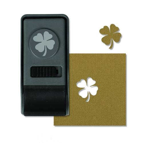 Tim Holtz Sizzix CLOVER Medium Paper Punch 660164 Preview Image