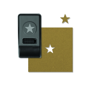 Tim Holtz Sizzix STAR Small Paper Punch 660153