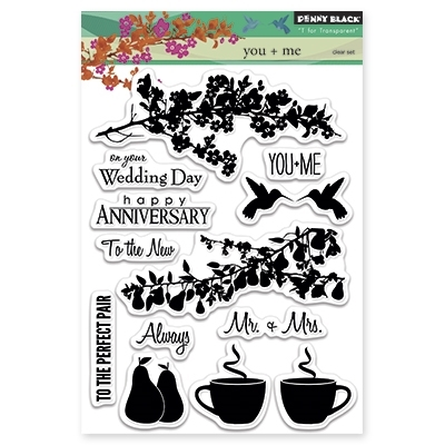 Penny Black Clear Stamps YOU AND ME 30285 zoom image