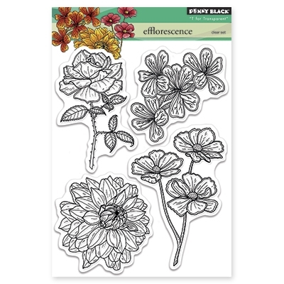 Penny Black Clear Stamps EFFLORESCENCE 30-282* Preview Image