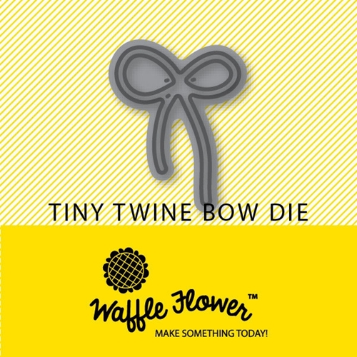 Waffle Flower TINY TWINE BOW DIE Set 310029 Preview Image