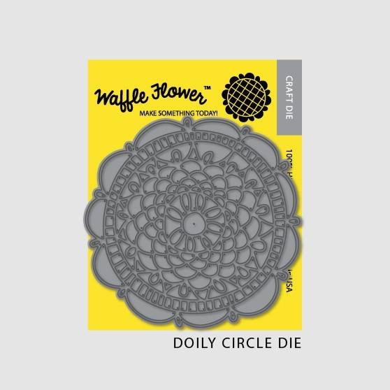 Waffle Flower DOILY CIRCLE DIE Set 310024 zoom image
