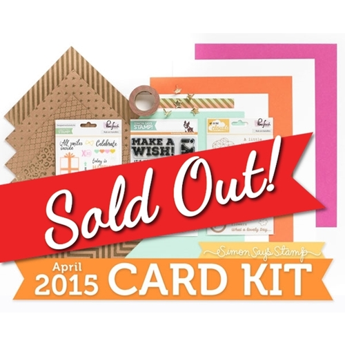 Simon Says Stamp Card Kit of the Month CELEBRATE  Preview Image