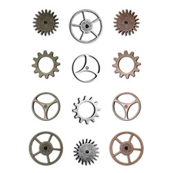 Tim Holtz Idea-ology SPROCKET GEARS Watch Parts Hardware  TH92691 zoom image