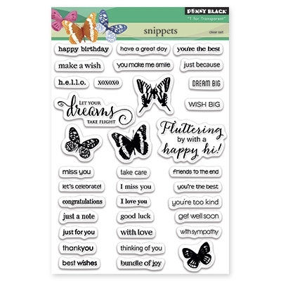 Penny Black Clear Stamps SNIPPETS 30-283 Preview Image