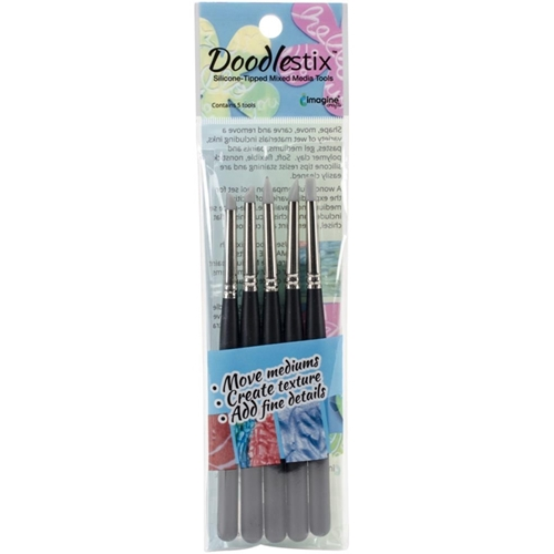 Tsukineko DOODLESTIX Silicone-Tipped Tools CTDOO005 Preview Image