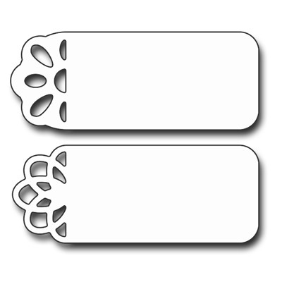 Penny Black FLOWER TAGS Thin Metal Creative Dies 51-124 Preview Image