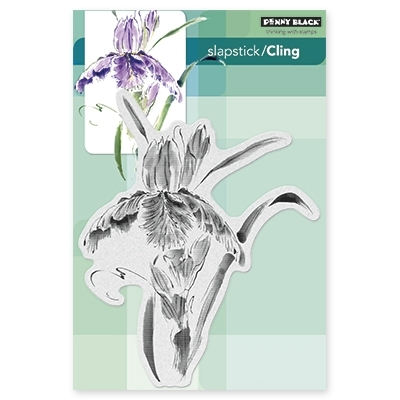 Penny Black Cling Stamp PURE IRIS 40332 zoom image