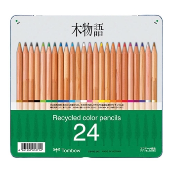 Tombow 24 RECYCLED COLORED PENCILS 51626