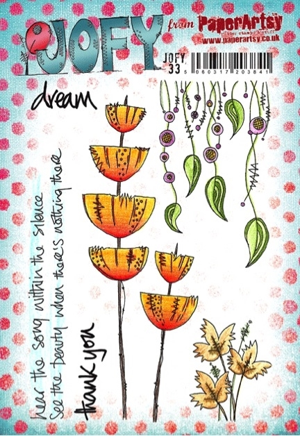 Paper Artsy JOFY 33 Dream Rubber Cling Stamp JOFY33 zoom image