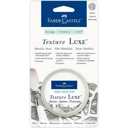 Faber-Castell SILVER TEXTURE LUXE Metallic Paste 770323
