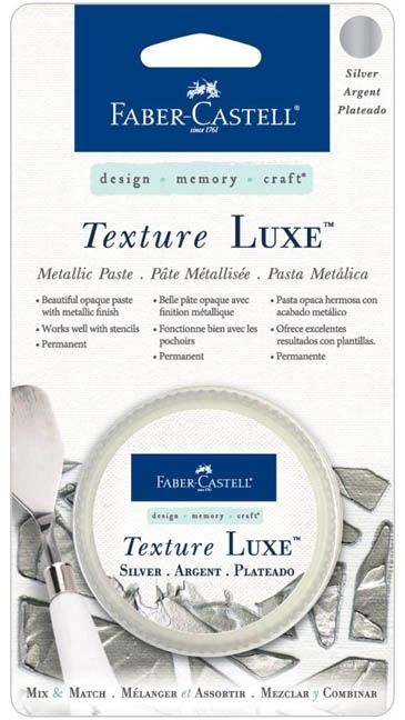 Faber-Castell SILVER TEXTURE LUXE Metallic Paste 770323 zoom image