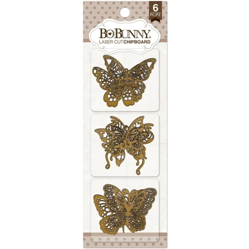 BoBunny BUTTERFLY Laser Cut Chipboard 12815839 Preview Image