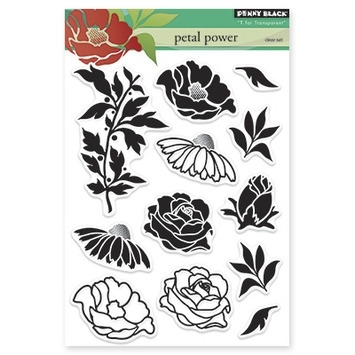 Penny Black Clear Stamps PETAL POWER 30-225 zoom image