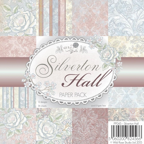 Wild Rose Studio SILVERTON HALL 6x6 Paper Pack PP045 Preview Image