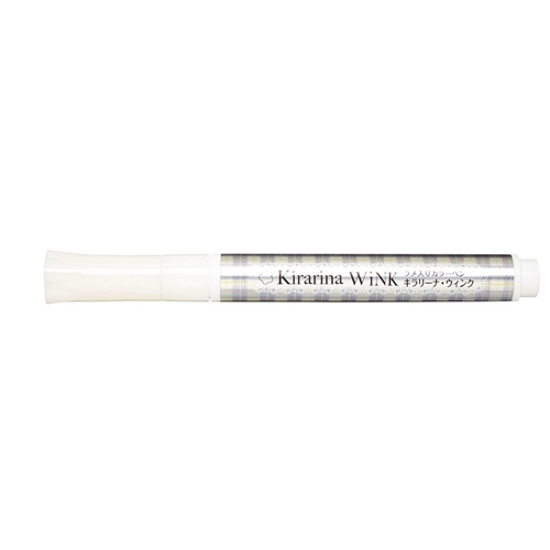Kirarina Wink WHITE PEARL Glitter Pen 521240 Preview Image