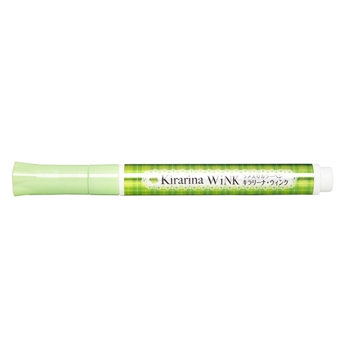 Kirarina Wink Lime Green Glitter Pen 521110 Preview Image Shadow