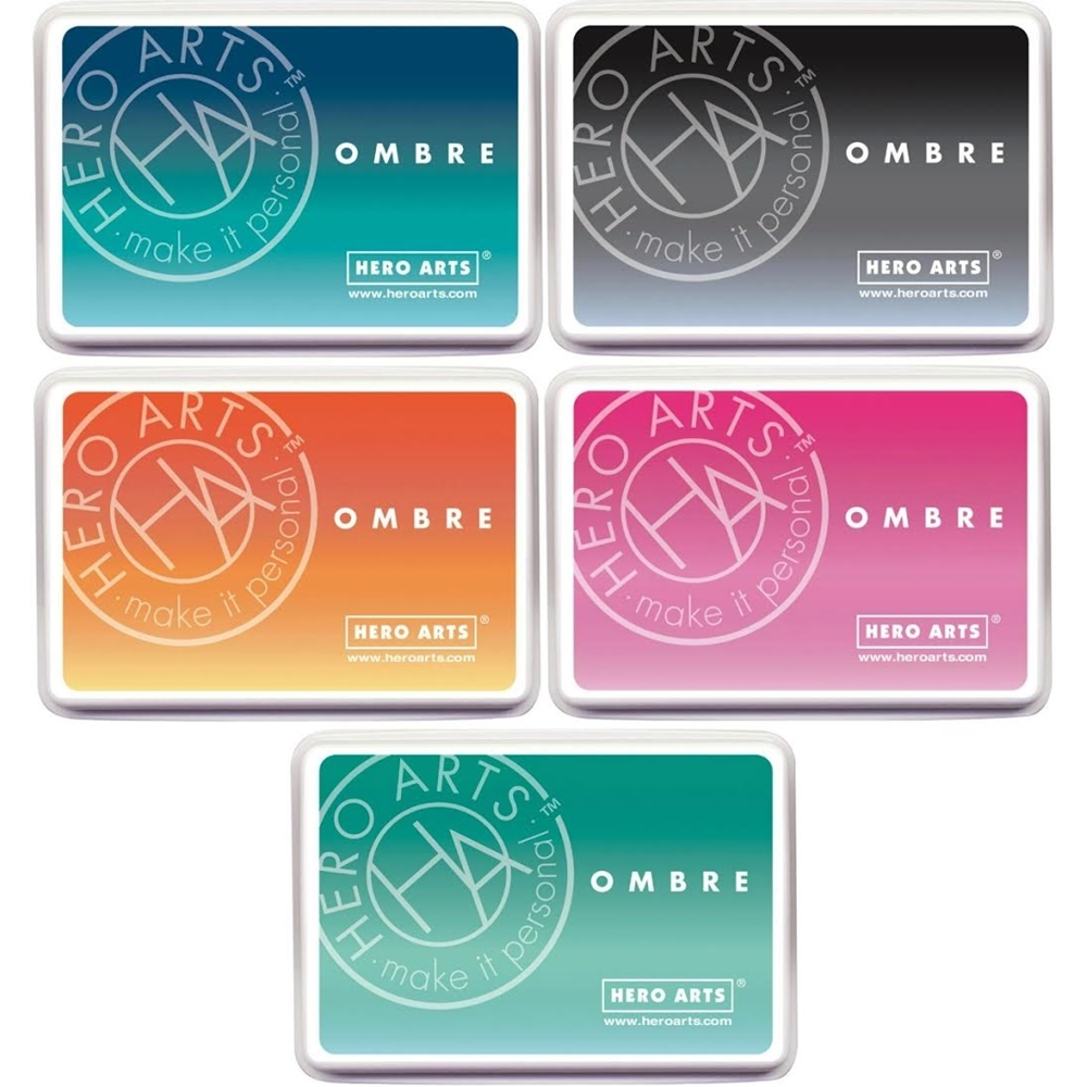 Hero Arts OMBRE SET OF 5 Ink Pads HAOMSET5 zoom image