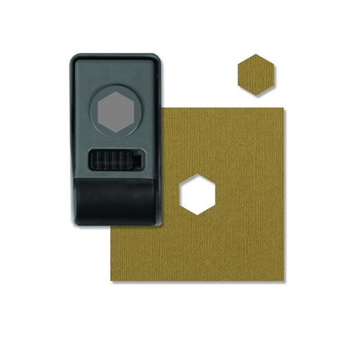 Tim Holtz Sizzix HEXAGON Small Paper Punch 660152 Preview Image