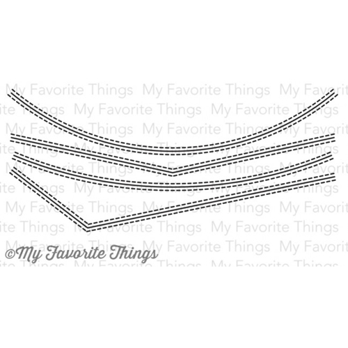 My Favorite Things STITCHED BASIC EDGES Die-Namics MFT599 Preview Image