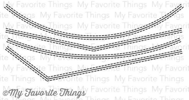 My Favorite Things STITCHED BASIC EDGES Die-Namics MFT599 zoom image