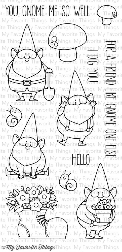 My Favorite Things YOU GNOME ME Clear Stamps BB15 zoom image