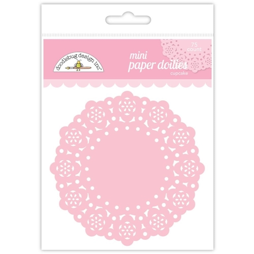 Doodlebug CUPCAKE MINI DOILIES 75 Count 4596 Preview Image