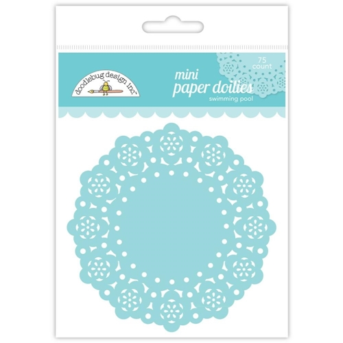 Doodlebug SWIMMING POOL MINI DOILIES 75 Count 4602 Preview Image