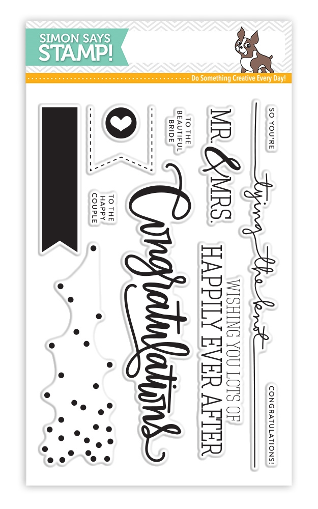 Simon Says Clear Stamps CONGRATULATIONS sss101530 zoom image