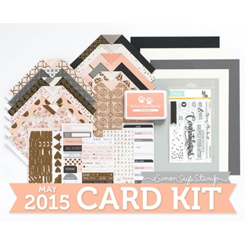 Simon Says Stamp Card Kit of the Month MAY 2015 HAPPILY EVER AFTER ckMay15