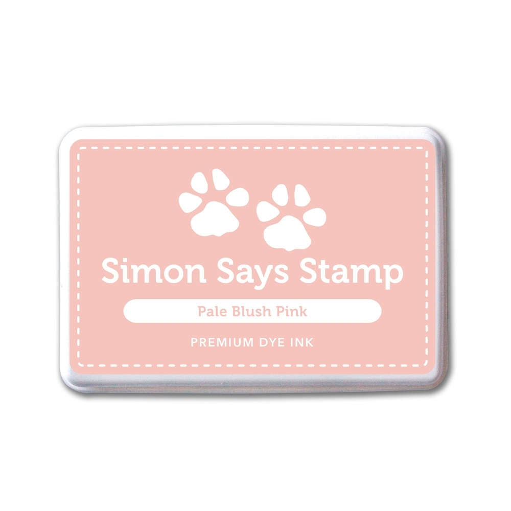 Simon Says Stamp Premium Dye Ink Pad PALE BLUSH PINK ink040 zoom image