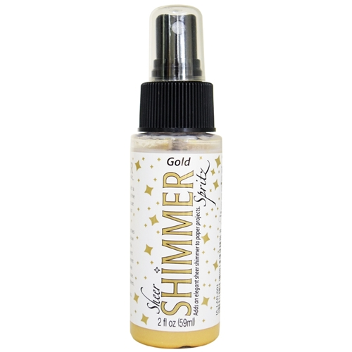 Tsukineko Gold Sheer Shimmer Spray