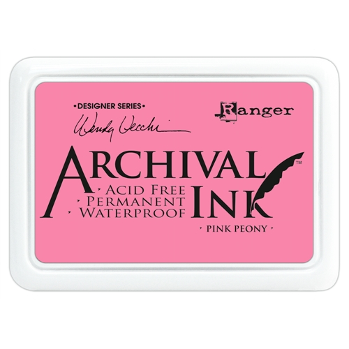 Ranger Wendy Vecchi Archival PINK PEONY Ink Pad AID45649 Preview Image
