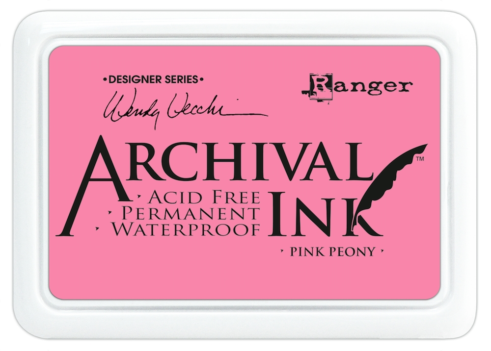 Ranger Wendy Vecchi Archival PINK PEONY Ink Pad AID45649 zoom image