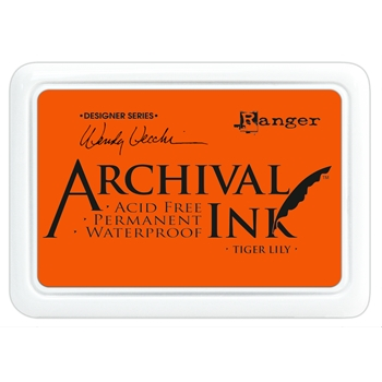 Ranger Wendy Vecchi Archival TIGER LILY Ink Pad AID45670