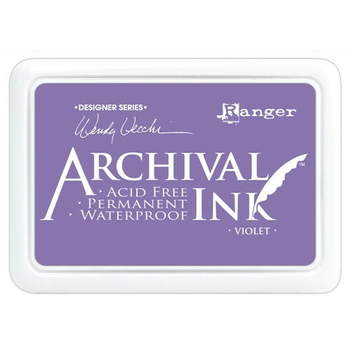 Ranger Wendy Vecchi Archival VIOLET Ink Pad AID45687 Preview Image