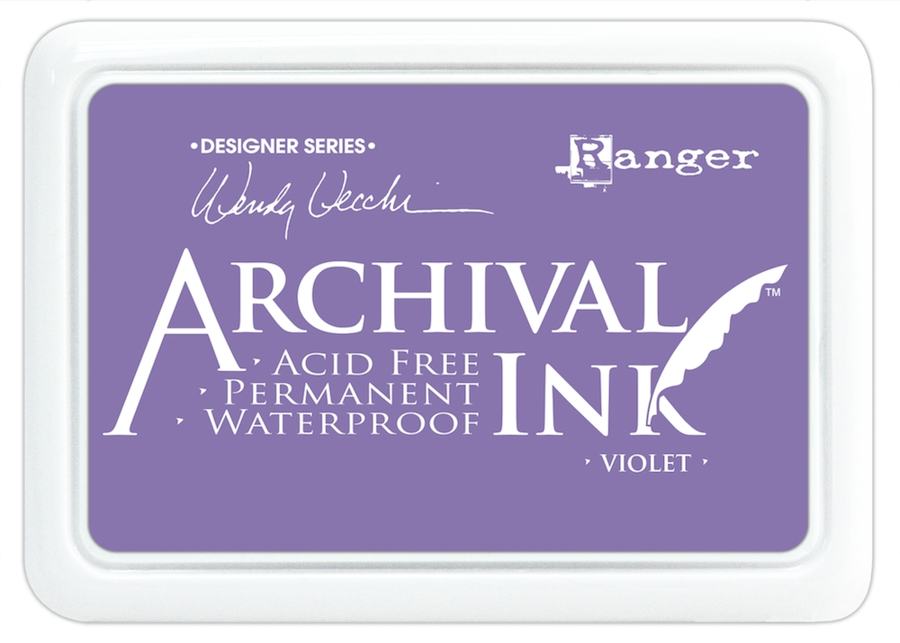 Ranger Wendy Vecchi Archival VIOLET Ink Pad AID45687 zoom image