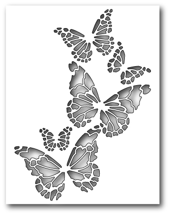 Memory Box REVERSE BUTTERFLY COLLAGE Craft Die 99145 zoom image