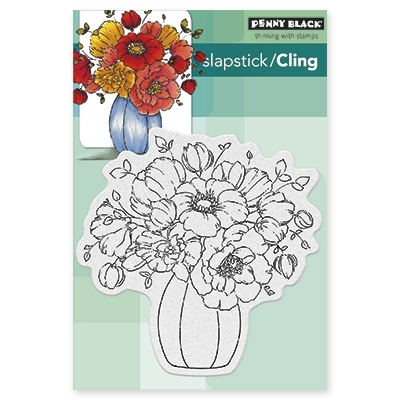 Penny Black Cling Stamp CENTERPIECE 40388 Preview Image