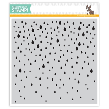 Simon Says Cling Rubber Stamp FALLING RAIN sss101506 Falling For You