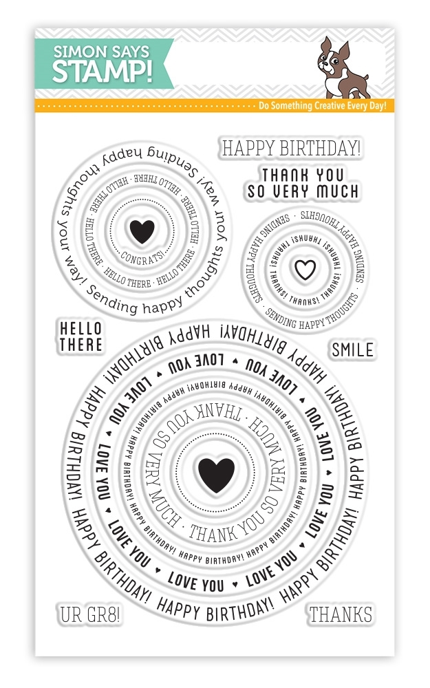 SSS Circle Sayings Stamps