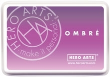 Hero Arts Ombre LILAC TO GRAPE Purple Ink Pad AF313 zoom image