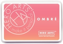 Hero Arts Ombre LIGHT TO DARK PEACH Ink Pad AF312 Preview Image