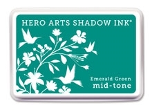 Hero Arts Shadow Ink Pad EMERALD GREEN AF315 Preview Image