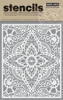 Hero Arts Stencil GLORIOUS PETAL SA064 Preview Image